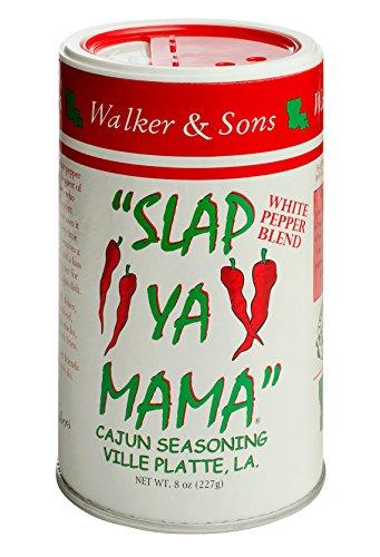 Slap Ya Mama Mixed Seasoning 6 Pack Variety Pack, 2 Cajun, 2 Cajun Hot, 2 White Pepper Blend, 8oz Each by ''SLAP YA MAMA'' (Image #7)