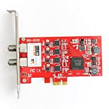 TBS 6205 DVB-T2/T/C Freeview Quad PCIe Digital TV Tuner Card for PC
