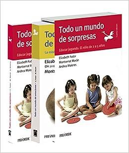 Estuche Todo un mundo... Sorpresas y emociones Guías para padres y madres: Amazon.es: Fodor, Elizabeth, Morán Moreno, Montserrat: Libros