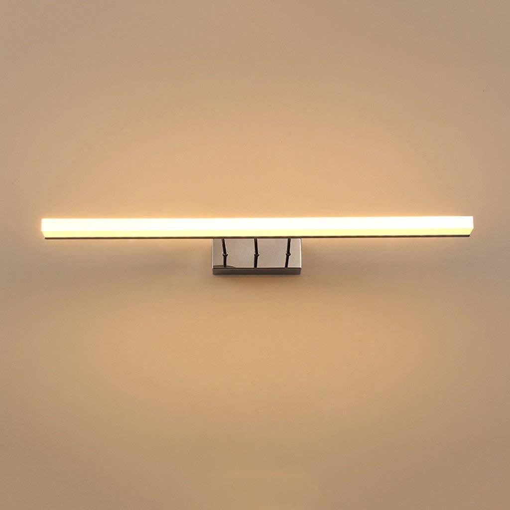 Badewanne Spiegelleuchten Spiegel LED Badezimmer Badezimmer Schrank spiegel Licht modernen minimalistischen Make-up Licht Wasserdicht und Fogproof wc Licht (Farbe  weißes Licht-7W 40 cm)