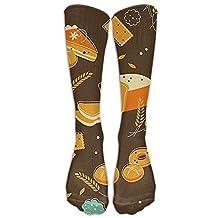 Delicious Fast Food Cool Long Dress Socks High Fun Sock