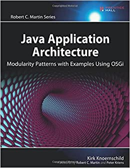 Java Application Architecture: Modularity Patterns with