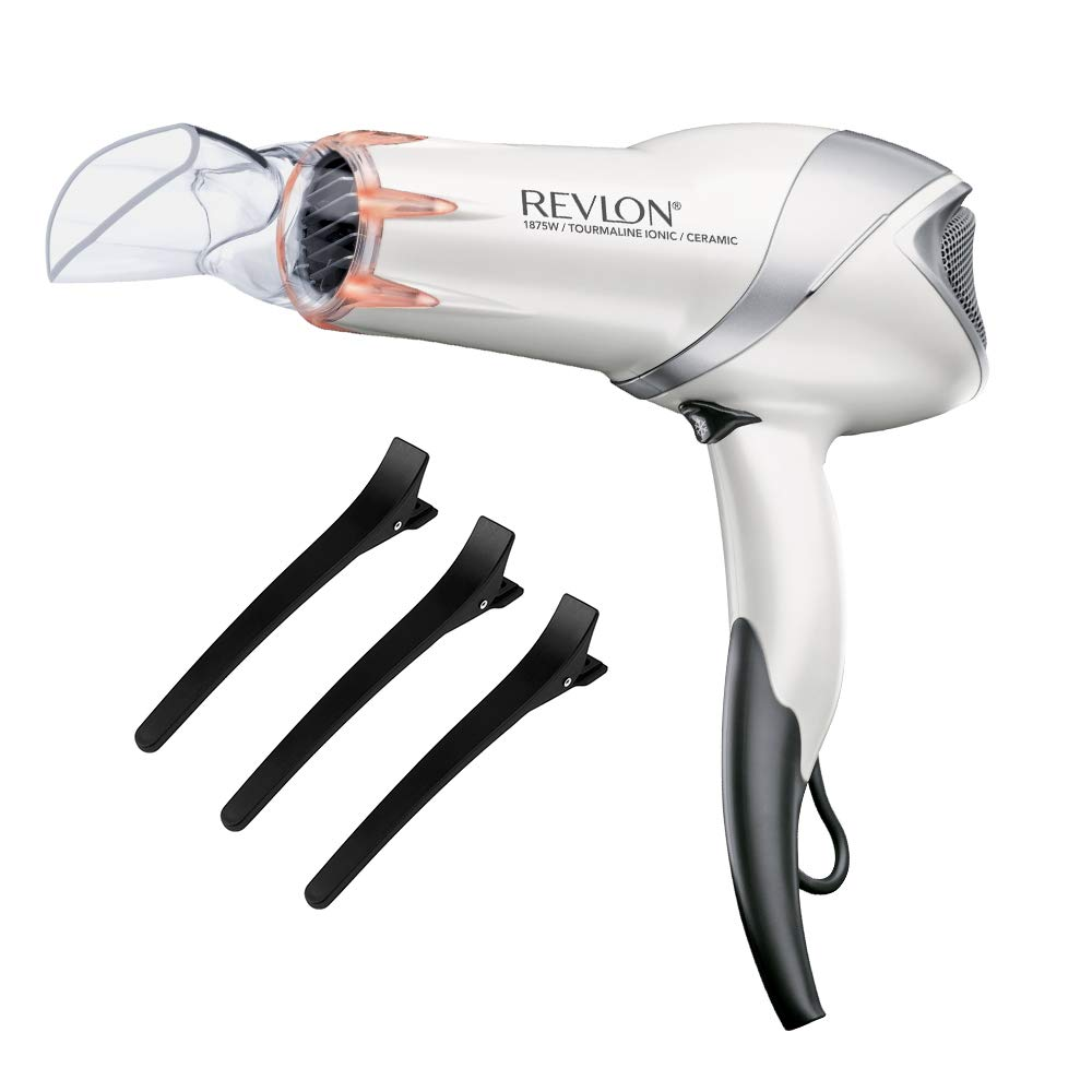 Revlon 1875W Infrared Hair Dryer with Hair Clips Helen of Troy RVDR5264