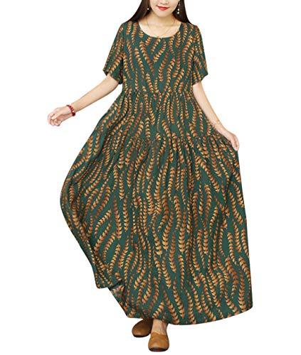 YESNO Women Dresses Casual Beach Swing Dress EJFUK