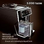 Saeco-Xelsis-SM758000-Macchina-da-Caffe-Automatica-con-Macine-in-Ceramica-12-Bevande-Filtro-AquaClean-Caraffa-Latte-Esterna-Display-a-Colori-Nero