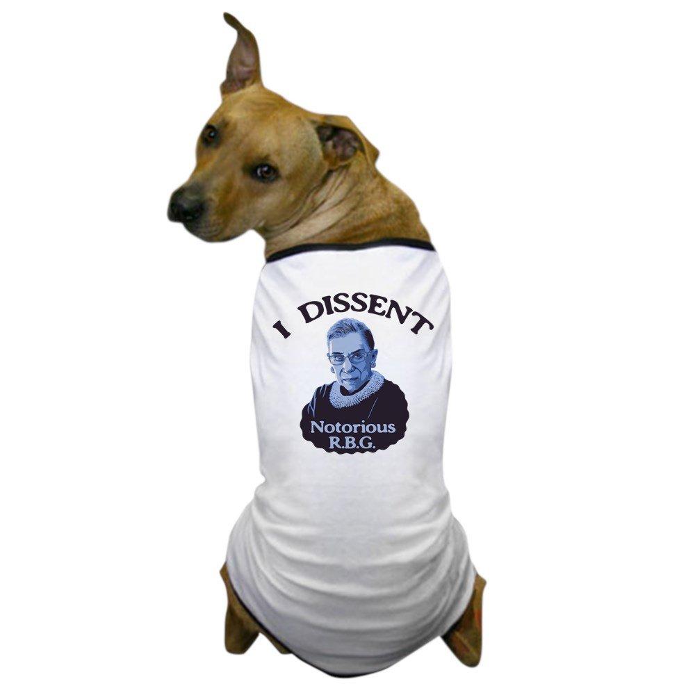 CafePress - Notorious RBG Dog T-Shirt - Dog T-Shirt, Pet Clothing, Funny Dog Costume