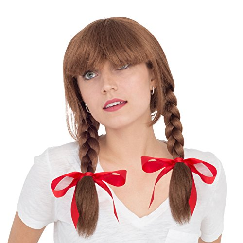 Adult Deluxe Annabell Doll Cosplay Costume Accessory Wig