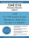 OAE 018 Elementary Education Subtests I: OAE 018 Ohio Teachers Exam
