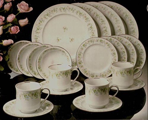 Johann Haviland Bavaria Germany Fine China: Forever Spring Pattern, 20 Piece Set (Retired)