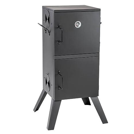 TecTake Barbacoa Barbecue Grill con Carbón Vegetal Parrilla Fumador - varios modelos - (Horno para ahumar | no. 401412)