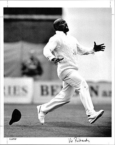 Vintage photo of Viv Richards, West Indies Cricket player, 22 April 1992 (Best Of Viv Richards)
