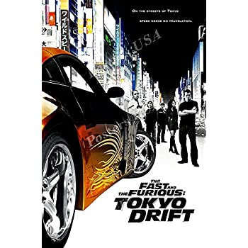 Fast And Furious 3 Full Movie >> Amazon Com Posters Usa Fast And Furious 3 Tokyo Drift Movie Poster
