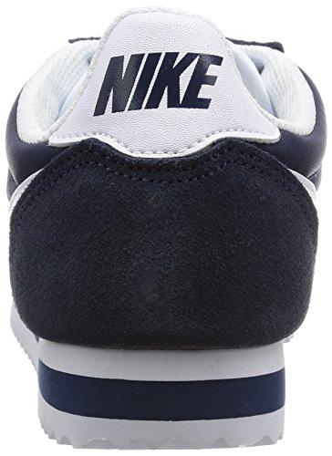 Nike Dames Klassieke Cortez Nylon Casual Schoen Obsidiaan / Wit