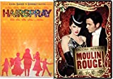 Moulin Rouge & Hairspray Musical DVD Set Special Edition 2 Disc & Bonus Videos Shimmy Shake
