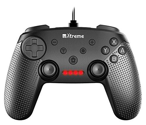 Xtreme 95645 Gamepad Nintendo Switch Negro mando y volante - Volante/mando (Gamepad,