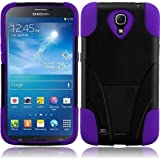 HR Wireless Samsung Galaxy Mega 6.3 T-Stand Cover - Retail Packaging - Black/Purple