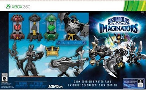 Skylanders Imaginators Dark Edition Starter Pack Xbox 360 by Activision