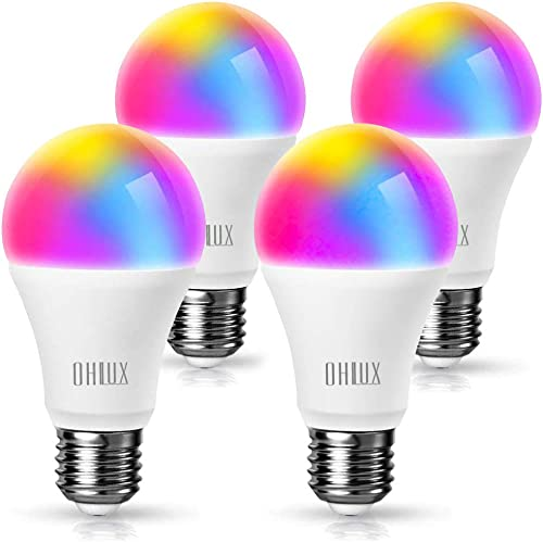 OHLUX Smart WiFi LED Light Bulbs Work