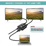 HDMI Splitter 1 in 2 Out - Techole 4K Aluminum
