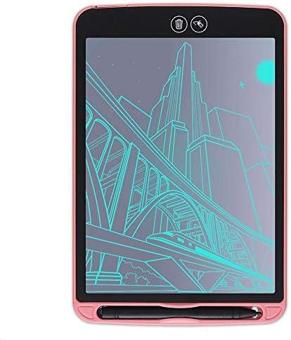 BOBIDYEE 12インチの部分的な消去LCDの手書き板の子供の理性的な電子製図板Lcdライトエネルギー厚い手書きの書板製図のタブレット (色 : ブラック)