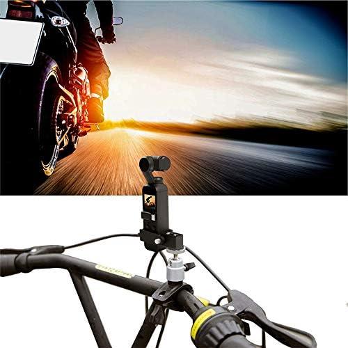 ZHFENG Soporte for Bicicleta Soporte de Bicicleta Clip de Abrazadera for dji Gimbal cámara estabilizadora de Mano con Tornillo de 1/4 Pulgadas Accesorio Accesorios Herramientas de Bricolaje: Amazon.es: Juguetes y juegos