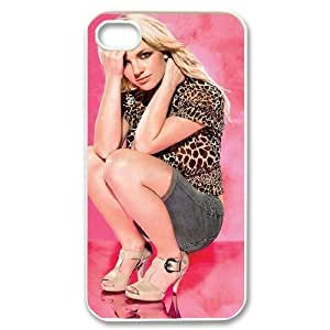 C-EUR Customized Print Britney Spears Pattern Back Case for iPhone 4/4S