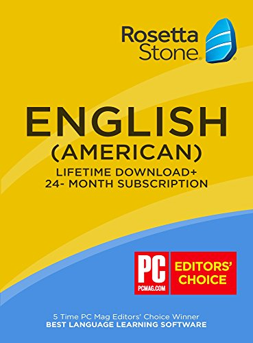 Learn English: Rosetta Stone 24 Month Online Subscription + (BONUS) Lifetime Download [Key Card]
