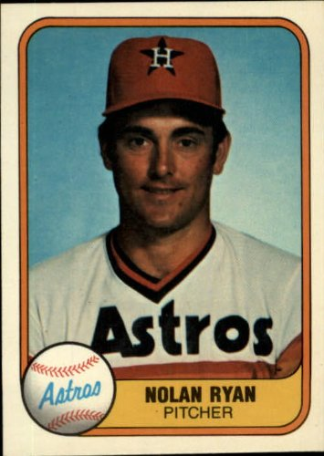 1981 fleer nolan ryan baseball card