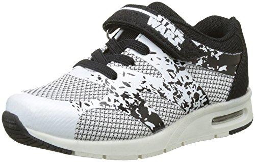 Star Wars Jungen S Low Sneakers Sneaker Weiß (White)