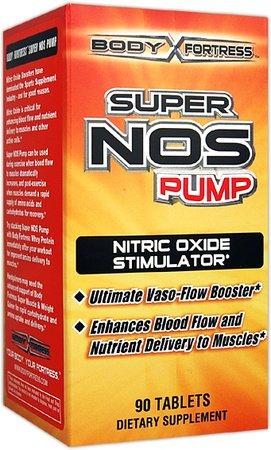 Body Fortress Comprimés Super Pump Nos, 90 Count