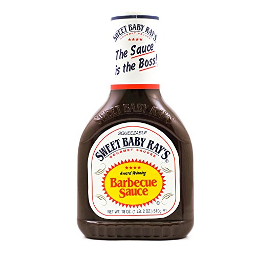 Sweet Baby Rays BBQ Sauce – Original, 1 x 510 g fles