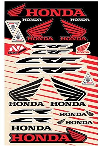 N-style Decal (N-Style N30-1047 Universal Sticker Kit - Honda Style 5)