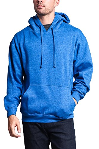 (G-Style USA Premium Heavyweight Pullover Hoodie MH13101 - Heather Royal - 2X-Large -)