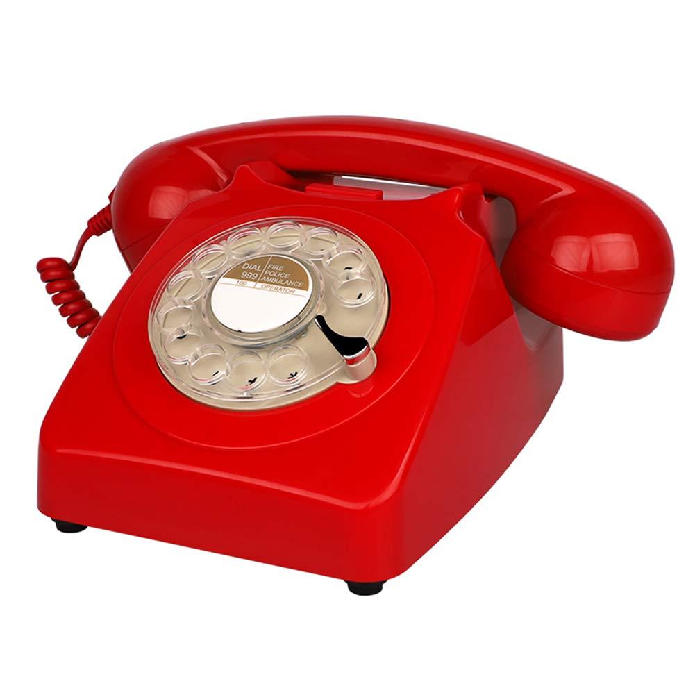 Corded Telephone Teléfono con Cable, Americano Retro ...