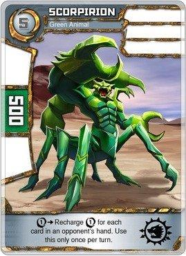 (Redakai - Scorpirion - Green Animal - Redakai Base Set)