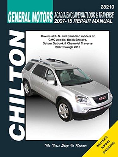 amazon com: chilton 28210 acadia, traverse, enclave & outlook 06-15:  automotive