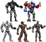 "Real Steel Basic 5"" Light Up Figure Wave 2 Set Of 5"