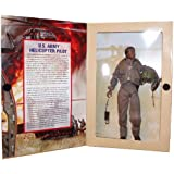 GI Joe Year 1997 Classic Collection Limited Edition 12 Inch Tall Soldier Action Figure - G.I. Jane U.S. Female Army Helicopter Pilot with AN/PCR-90 Radio, Survival Vest, Pistol, Jump Suit, Flight Helmet, Boots and Dog Tags (African American Version)
