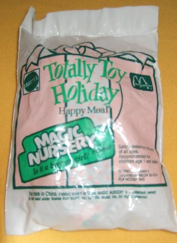 MCDONALD'S HAPPY MEAL: MATTEL'S TOTALLY TOY HOLIDAY MAGIC NURSERY (1993)