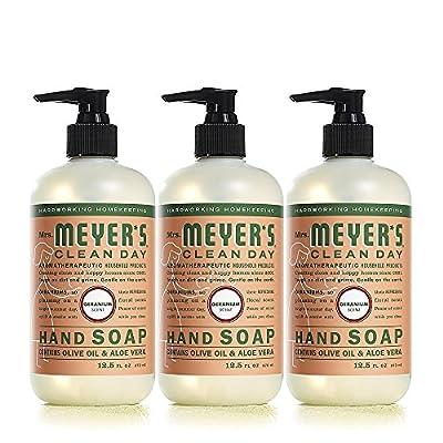 Mrs. Meyers Clean Day Hand Soap, Geranium, 12.5 fl oz