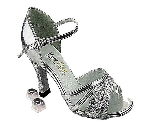 Light In The Box Shoes (Very Fine Dance Shoes 6030 Silver Stardust (Competition Grade) 2.5