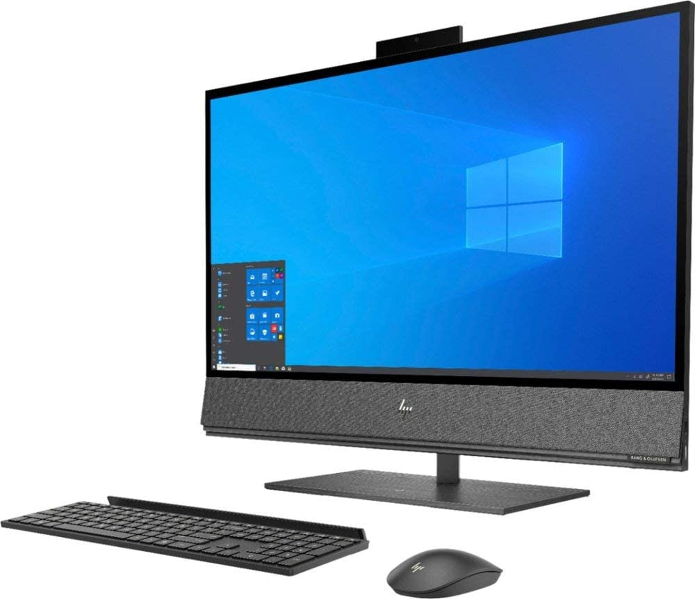 "HP Envy 32 Desktop 4TB SSD 32GB RAM Extreme (Intel Core i7-9700K Processor 3.60Ghz Turbo Boost to 4.90GHz, 32 GB RAM, 4 TB SSD, 32"" 4K UHD (3840 x 2160), Win 10) PC Computer All-in-One"