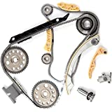 ECCPP Fits 00-11 Chevrolet Oldsmobile Pontiac Saturn GM 2.0L 2.2L DOHC Ecotec Engine Timing Chain Kit w/ Balance Shaft