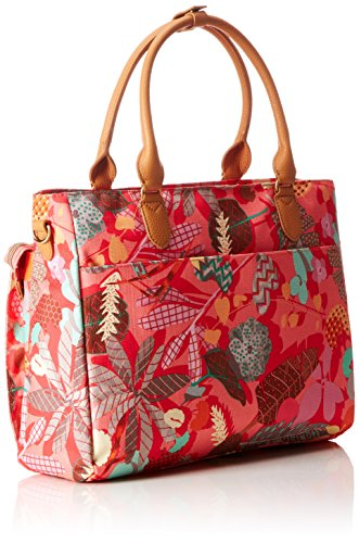 Oilily Botanic Pop Office Bag Rosa Flamingo