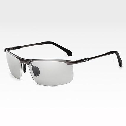 ZX Descoloramiento Gafas Día Y Noche Uso Dual Luz Polarizada Manejar La Seguridad Gafas De Sol