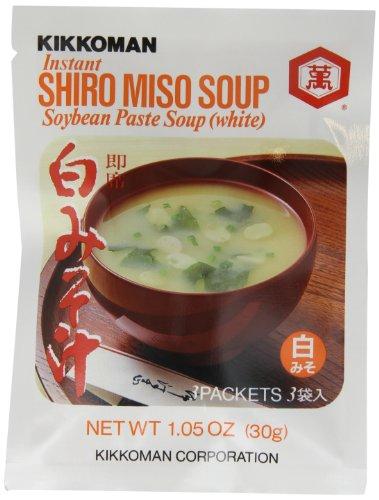 Kikkoman Instant Shiro Miso Soup, 1.05-Ounce Units (Pack of ()