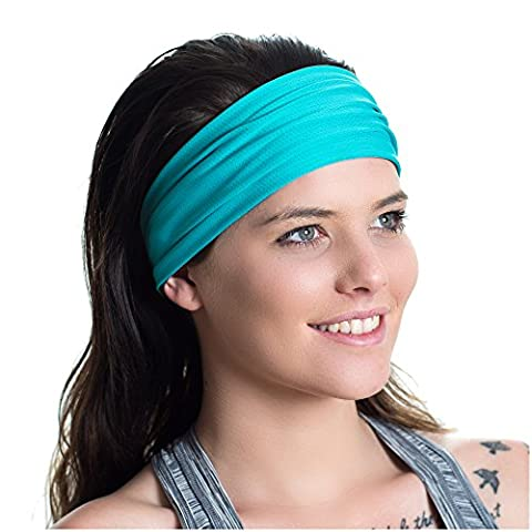 Running Headband - Ideal for Sports, Fitness, the Gym & Yoga - Moisture Wicking - Non-Slip - Workout Sweatband - Designed for Versatility & the Active Women - by Red Dust Active