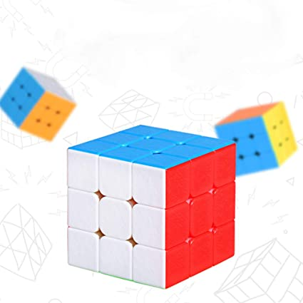 Alician Professional Smooth Magnetic Puzzle Cube Toy Kid Gifts 3*3