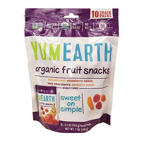 YummyEarth Organic Fruit Snacks, 6.2 oz ( Packaging May Vary ) -