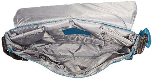 BREE Unisex-Erwachsene Punch 49, Inkblue, Messenger W17 Laptop Tasche, Blau (Inkblue), 28x8x38 cm